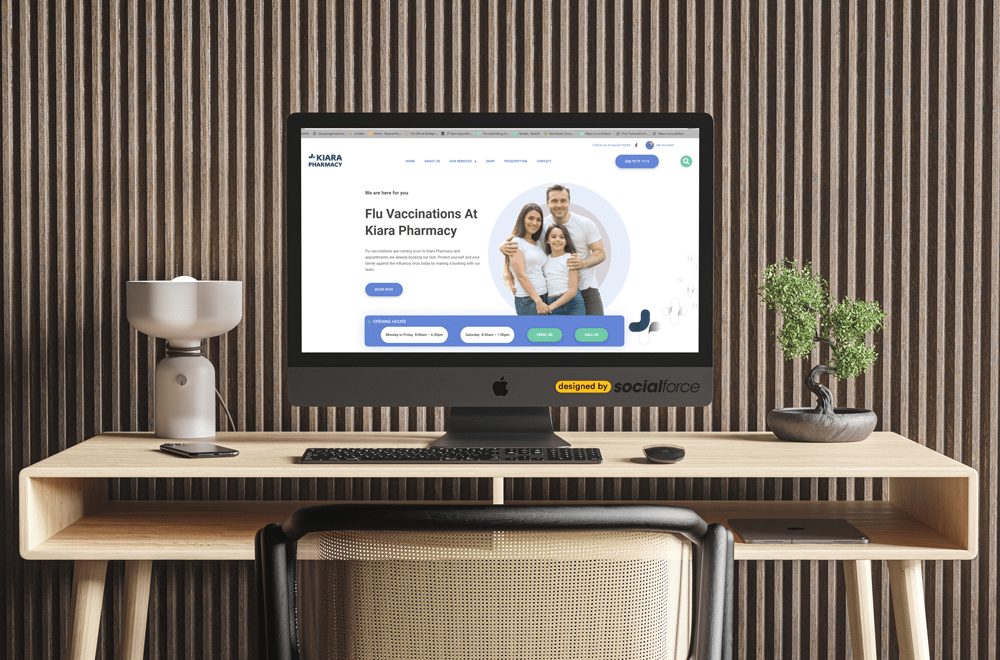 Announcing the Launch of Kiara Pharmacy's New Website